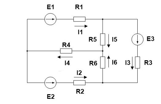 контурных токов I11,I22