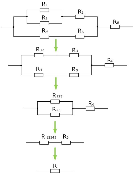Формула расчета сопротивления параллельно